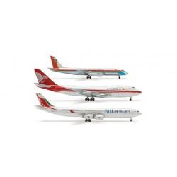 HERPA B747,DC-8,A340  1-500