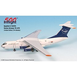 Syrian Airways Ilyushin IL-76