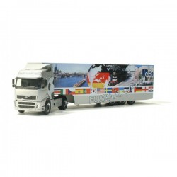 Volvo FH GL box semitrailer...