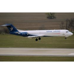 Slovak Airlines Fokker 100